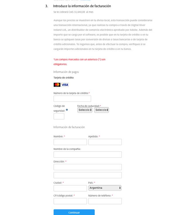 Descuento Cupones y promociones Adobe